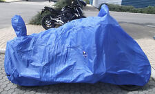 190T Terylene Water Resistant Cloth Motorcycle cover 4 Cruiser-Bike-4006ZLL-Blue