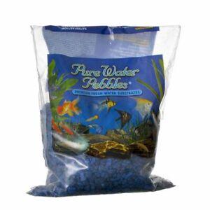 Pure Water Pebbles Aquarium Gravel   Marine Blue
