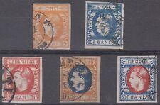 Romania Scott 37-42 Used (Catalog Value $191.50)
