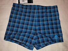 ADIDAS INFINITEX SHORTS BOXER SWIMMING SWIM NUOTO Sz 32'' I-5 SCOTTISH BLUE