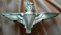 Parachute Regiment Cap Badge KC WM 2 Lugs ANTIQUE Original