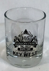 SHOT GLASS -  Key West Distillery The First Leagal Large Florida