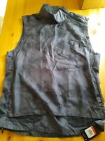 New Nike Tech Pack Hooded Running Vest Mens Large Gray BV5679-065 $175 Retail