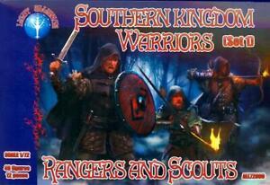 Dark Alliance Figures 1/72 SOUTHERN KINGDOM WARRIORS RANGERS & SCOUTS Set #1