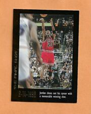 MICHAEL JORDAN UPPER DECK CAREER SET 1999 CARD # 59