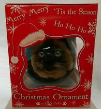 NEW Himalayan Cat Ornament Christmas Ball from E&S Pets