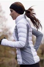 NWT Lululemon Run Insulator Pullover Jacket Size 6 White/ Gray 650 Down Fill