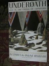 Underoath/The Classic Crime Double sided Album Poster 2008