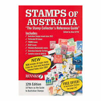 Renniks Stamps of Australia - 12th Edition Soft Cover Book - FULL COLOUR
