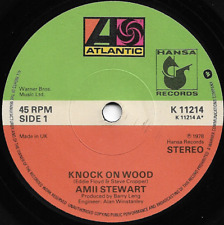 AMII STEWART - KNOCK ON WOOD / WHEN YOU ARE BEAUTIFUL - ORIGINAL 70s FUNK DISCO