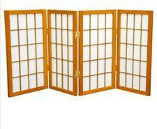 2ft tall window shoji 4 panels Honey