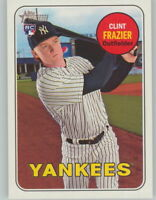 CLINT FRAZIER 2018 Topps Heritage SP ACTION Photo Variation #114 YANKEES RC