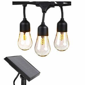 Brightech SLR-48HG-SW 48-Ft Weatherproof Solar Powered LED Outdoor String Lights