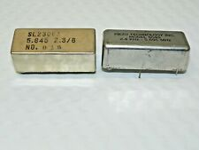 Drake TR7 Line Filters HF Transceivers  (1) Piezo M: 5049   and  (1) SL 2300A