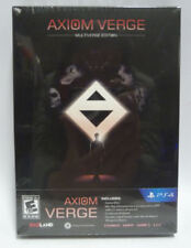 AXIOM VERGE MULTIVERSION LIMITED EDITION - PLAYSTATION 4 NUOVO NEW REGION FREE