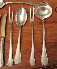 Fleischgabel BSF Englisch Chippendale 800 Silber