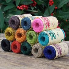 12 x nutscene tiddler SPAGO 16M BOBINE - 1 per ciascun colore! colorato iuta String
