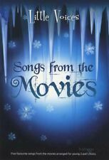 Little Voices Songs from the Movies Sheet Music Book Only Soundtrack