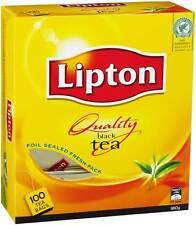 TEA BAGS LIPTON BLACK 100'S