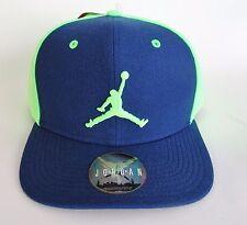 New NIKE AIR JORDAN JUMPMAN SNAPBACK HAT Cap BLUE / Ghost GREEN 619360 449 Adult