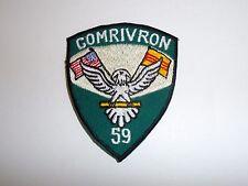 b7277 US Navy Vietnam Com RivRon River Squadron 59 Patrol PBR Brown Water IR27D