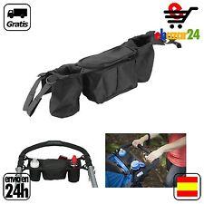 Organizador para carro cochecito de bebe silla paseo niño Bolsa bolso Taza Biber