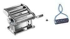 Marcato Classic Nudelmaschine Atlas 150 mit 3 Walzen,  inklusive Pastabike