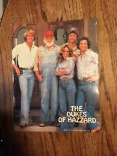 Dukes Of Hazzard 2 Pocket Folder 1981 !