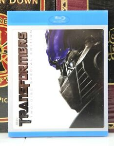 TRANSFORMERS SPECIAL EDITION -- BLU-RAY w/ SLIPCOVER -- I SHIP BOXED