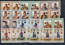 Sao Tome 464/83 a + b postfrisch / UPU - Uniformen .......................2/1524
