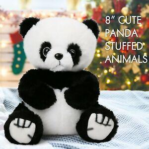 Panda Teddy Bear Stuffed Animals Plush Soft Toy Kids Baby Gifts White Black