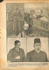 Captain Baylis US Army Nurses/Airmail /Alexander Kerensky  WWI 1918 ILLUSTRATION