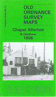 Old Ordnance Survey Map Chapel Allerton & Gledhow 1906 - Yorkshire Sheet 203.10