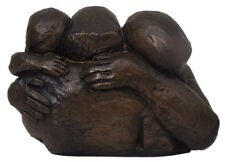 Superb Theresa Gilder Bronze Resin Sculpture - Family Embrace - Limited Edition