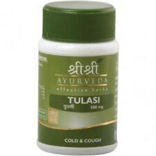 10X Sri Sri Ayurveda Tulasi Tablet For Cold And Flu 60 Tablets