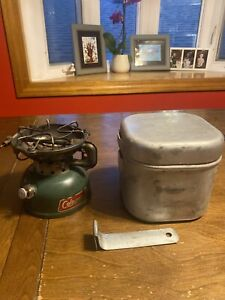 1973 Coleman Stove 502 And Case And Handle