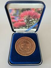 Bronze Medal commemorating the XIV Commonwealth Games, Auckland New Zealand 1990