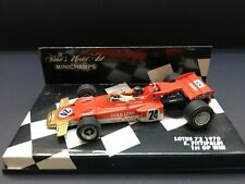 Minichamps - Emmerson Fittipaldi - Lotus - 72 - 1:43 - 1970 - 1st GP Win