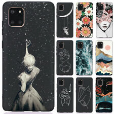 For Samsung Galaxy A11 A21 A31 A41 Slim Soft Silicone Painted TPU Case Cover