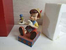 Disney Tradition Pinocchio Just Give a Little Whistle 4043647 Figurine - Boxed
