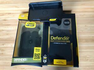 OTTER BOX DEFENDER BELT CLIP HOLSTER LOT 3 FOR IPHONE 4 4S 7 PLUS 8 PLUS   NEW