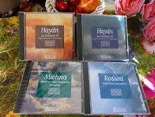 NEUfs 4CDmusique  classique ,rossini ,etc