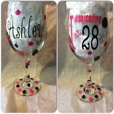 Personalized Wine Glass (Wine Glasses) Various Sizes, Gift