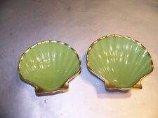 Set of 2 Limoges France Shell Shaped Plates, Lovely Decorative Pieces_Very Nice