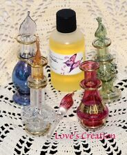 2 Inch Egyptian Perfume Bottle With 1 oz Free Perfume Oil