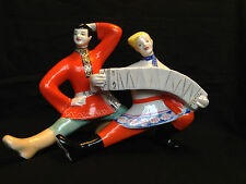 Antique RUSSIAN USSR porcelain figurine . With Mark and number