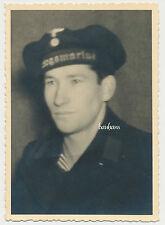Foto-Portrait Soldat der Kriegsmarine   2.WK ( L496)