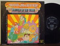 "ROD McKUEN-DICK JACOBS ""Zodiac Suite-Written in the Stars"" RARE 1971 VOCALION LP"
