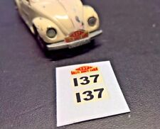 Matchbox Lesney No15 Volkswagen VW 1500 Saloon Set of Stickers, No Car,