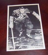 Cleveland Barons Player Ian Cushman 1955-56  9 x 6 Woody Ryan collection